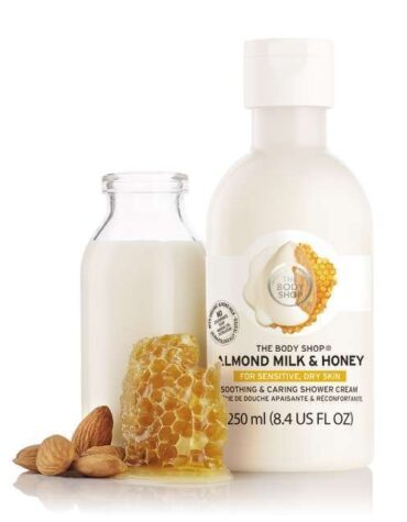 almond milk honey soothing caring shower cream 2 640x640