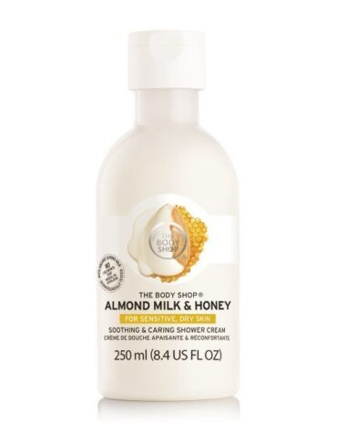 almond milk honey soothing caring shower cream 5 640x640