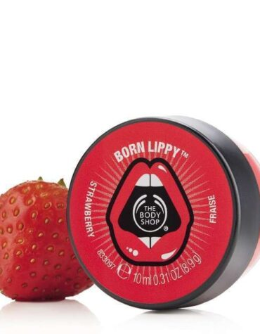 born lippy pot lip balm strawberry 7 640x640