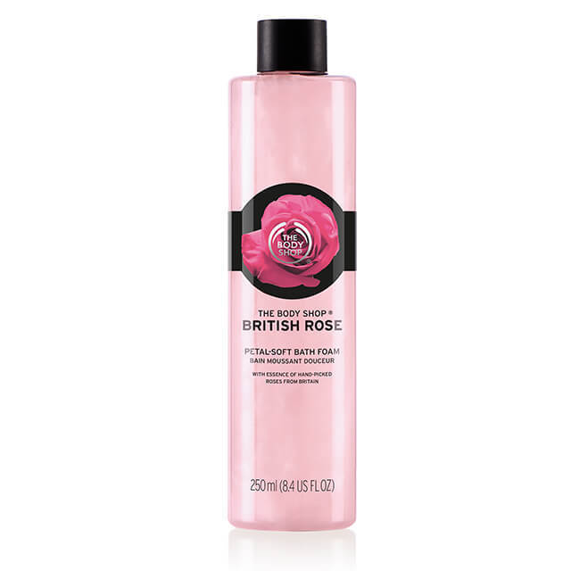 british rose petal soft bath foam 3 640x640