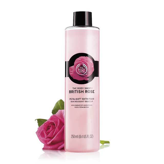 british rose petal soft bath foam 4 640x640