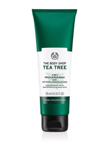 tea tree 3 in 1 wash scrub mask 1 640x640