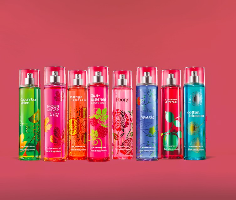 bath and body works 90s fragrances new versions
