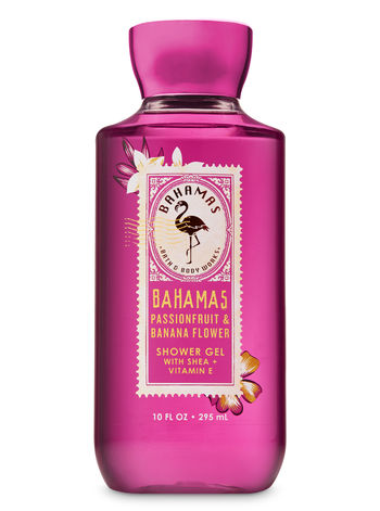 Bath Body Works – Pink Passion Banana Flower Shower Gel