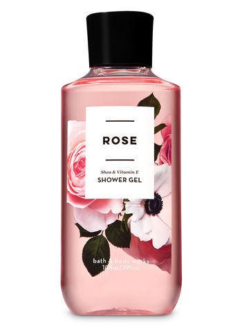 Bath Body Works Rose Shower Gel