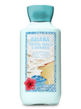 Bath Body Works Tropical Vanilla Vanilla Body Lotion