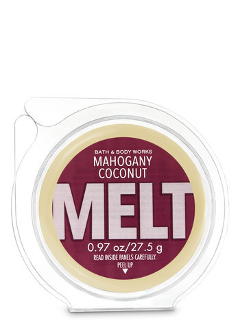 Mahogany Coconut Wax Melt Bath Body Works
