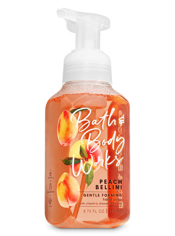 Bath Body Works Peach Bellini Foaming Hand Wash