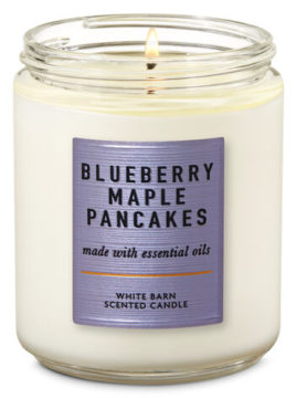 Blueberry Maple Pancakes Single Wick Candle