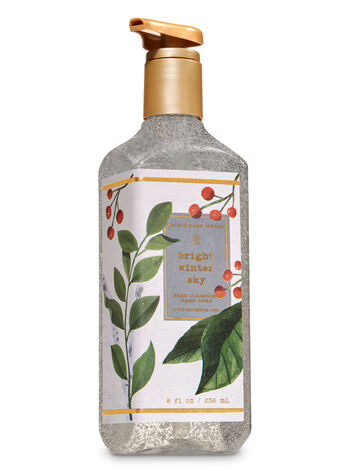Bright Winter Sky Deep Cleansing Hand Soap