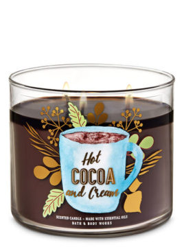 Hot Cocoa Cream 3 Wick Candles