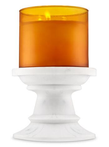 Marble Pedestal Candle Holder