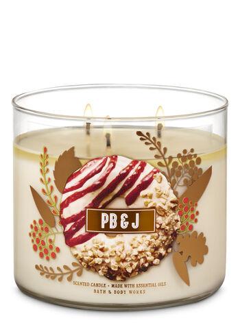 PBJ 3 Wick Candles