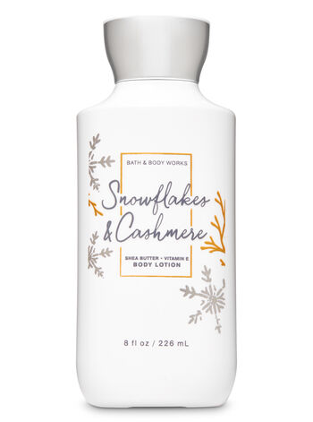 Snowflakes Cashmere Body Lotion