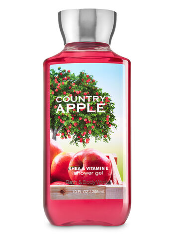 Bath Body Works Country Apple Shower Gel