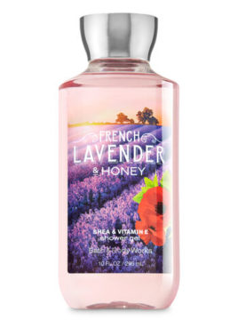 Bath Body Works French Lavender Honey Shower Gel