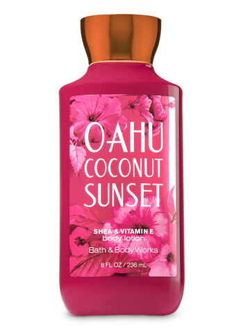 Bath Body Works Oahu Coconut Sunset Body Lotion