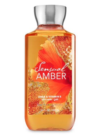 Bath Body Works Sensual Amber Shower Gel