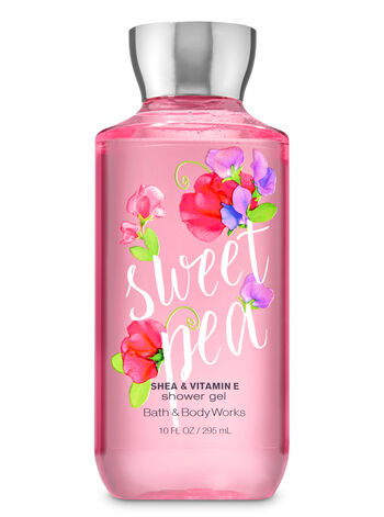 Bath Body Works Sweet Pea Shower Gel