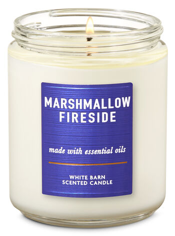 Marshmallow Fireside Single Wick