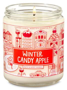Winter Candy Apple Single Wick