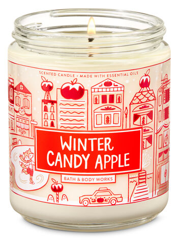 Winter Candy Apple Single Wick