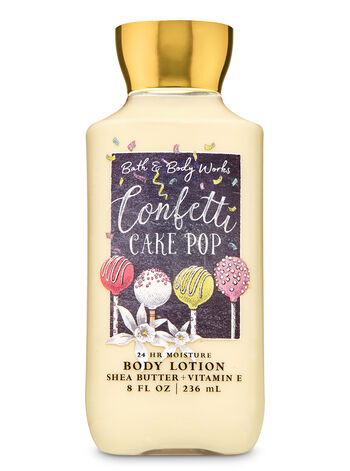 CONFETTI CAKE POP lotion