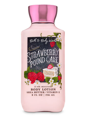 STRAWBERRY POUND CAKE lotion