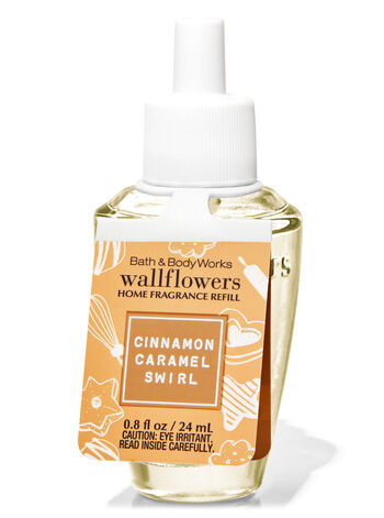 CINNAMON CARAMEL SWIRL WALLFLOWER