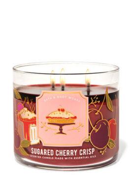SUGARED CHERRY CRISP