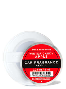 Winter Candle Apple Scent