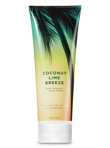 COCONUT LIME BREEZE cream