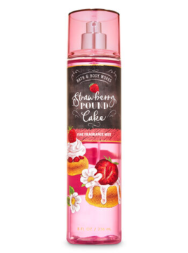STRAWBERRY POUND CAKE mist