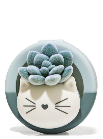 KITTY SUCCULENT VISOR CLIP