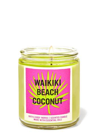 WAIKIKI BEACH COCONUT candle