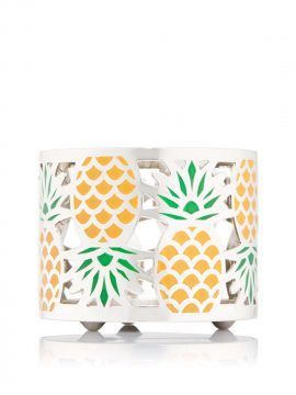 Bath & Body Works Mini Pineapple Candle Holder