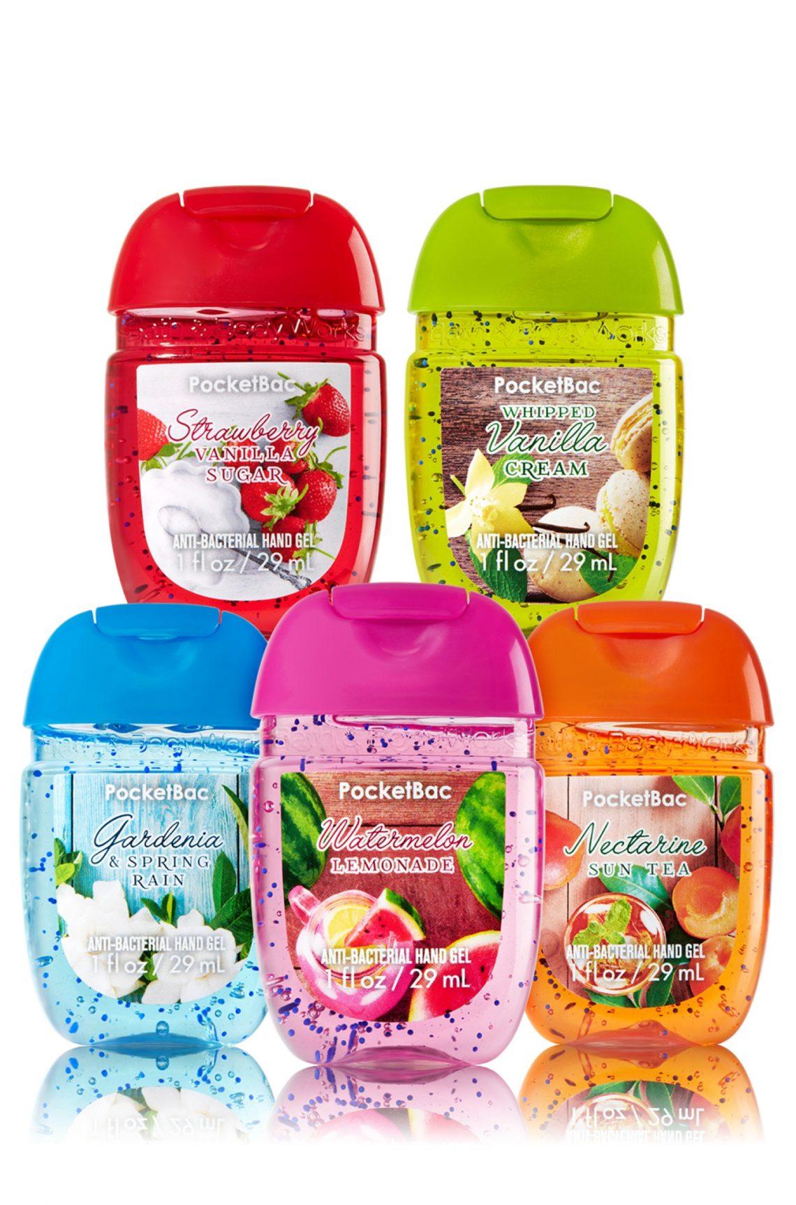 Pocketbac Anti-Bacterial Hand Sanitiser - Bath & Body Works Spring Pack